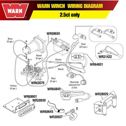 warn - warn contactor 12vdc - 63070