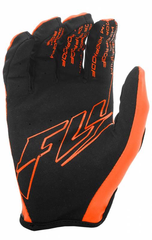 Fly Racing Mens Gloves Black//Orange Size 10