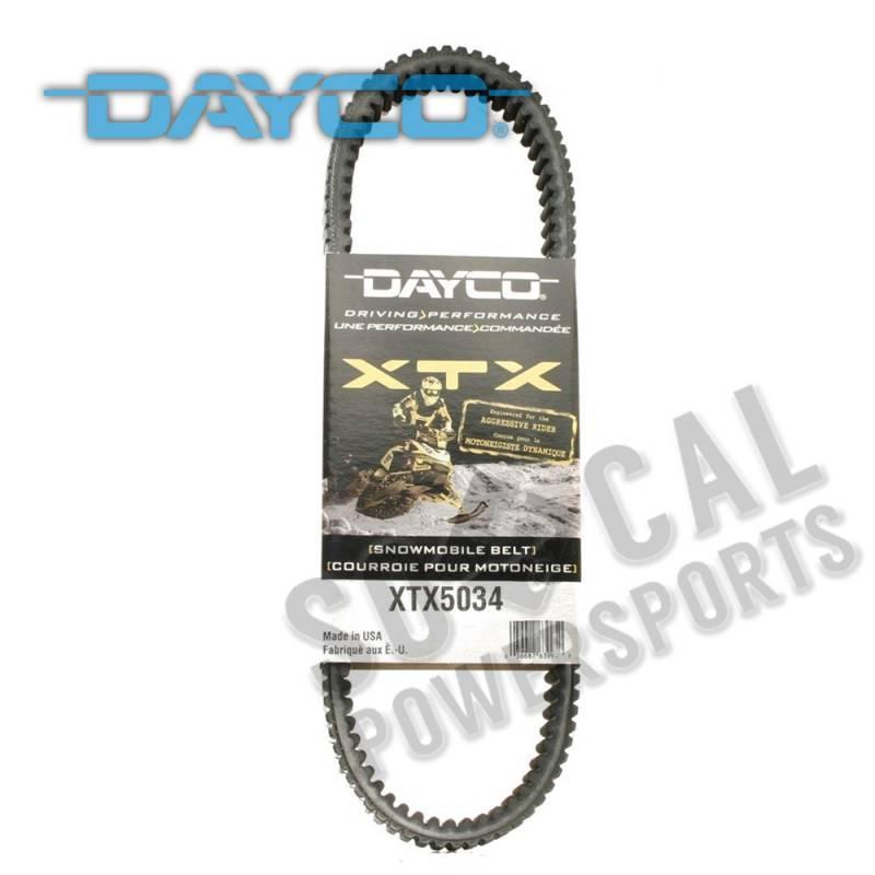2012 2013 2014 800 Dayco XTX5034 Drive Belt Ski-Doo GSX 800R