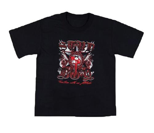 Stud Boy - Stud Boy Kids Black T-Shirt Small - 2531-00