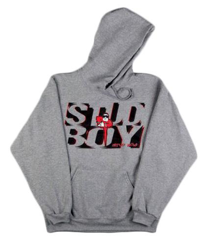 Stud Boy - Stud Boy Grey Hoodie XLg
