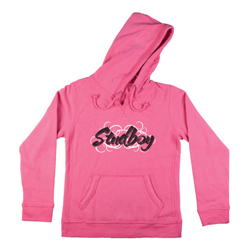 "Stud Boy - Stud Boy ""Girls"" Pink Hoodie, 2XLG - 2530-03"