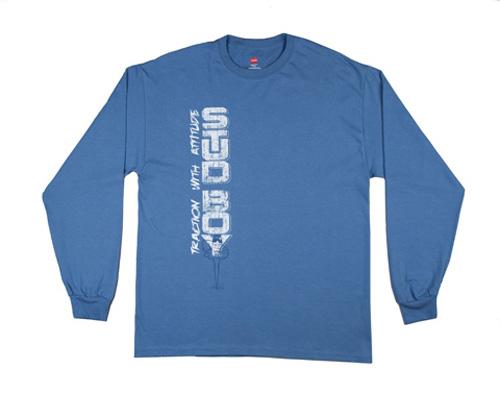 Stud Boy - Stud Boy 2013 Blue Long Sleeveshirt Large - 2516-01