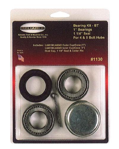 """RELABLE MACHINE - Bearing Kit 1-1/16"""" - 1-3/8"""" Bearing - 1134"""