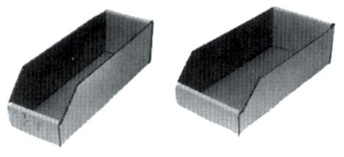 "ROTARY - Rotary 4"" X 12 1/2"" White Bin Boxes-Min 10 - 50-8203"