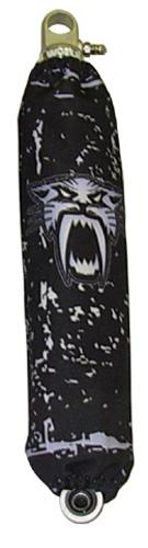 SHOCKPRO - Shockpros: Shockpros: Shock Covers Front Arctic Cat Black - S203ACBK
