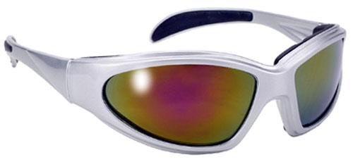 PACIFIC COAST - Pacific Coast Pacific Coast Sunglasses Chopper Colored Mirror/Silver - 43624