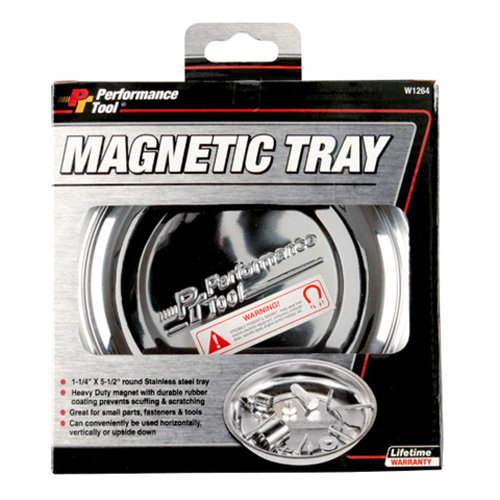 PERFORMANCETOOL - Performance Tool Magnetic Tray Round - W1264