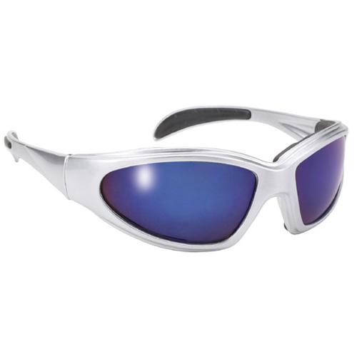 PACIFIC COAST - Pacific Coast Chopper Sunsglasses - Aluminum/Blue Mirror Lens - 43622