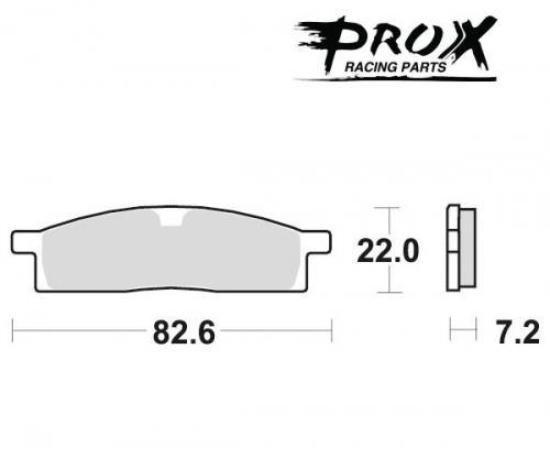 Pro-X - Pro-X Brake Pads - 37.104102