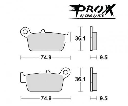 Pro-X - Pro-X Brake Pads - 37.105302