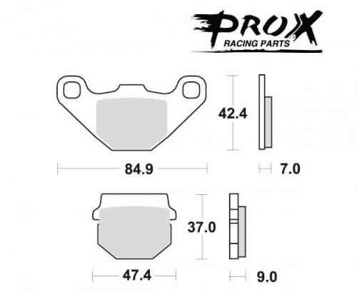 Pro-X - Pro-X Brake Pads - 37.106002