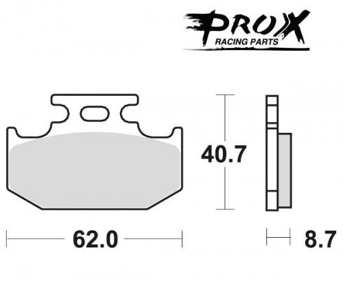 Pro-X - Pro-X Brake Pads - 37.201202