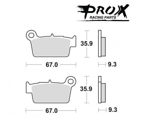 Pro-X - Pro-X Brake Pads - 37.201302