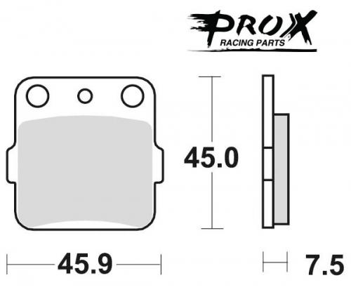 Pro-X - Pro-X Brake Pads - 37.202002