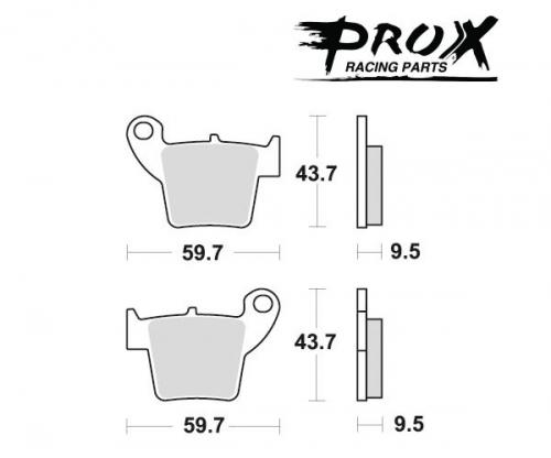 Pro-X - Pro-X Brake Pads - 37.208202