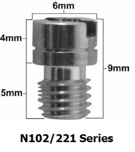 Pro-X - Mikuni N102/221 Series Main Jet #165 (Pack Of 5) - 47.221165