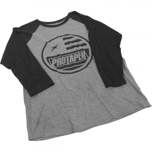 PROTAPER - ProTaper Bolt 3/4 Sleeve Shirt - Greyblack - 012758