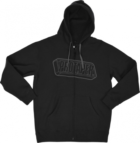 PROTAPER - ProTaper 3D Zip Hoodie (Black) - Black - 012772