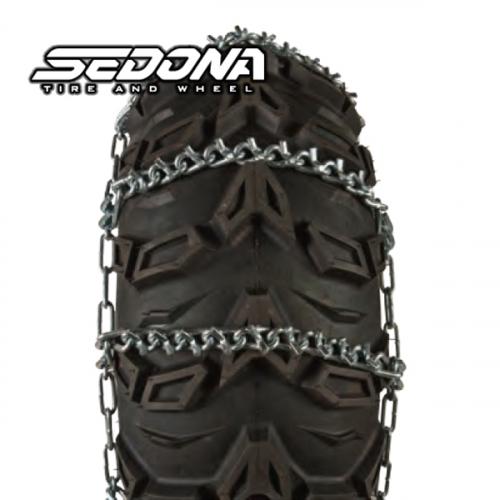 "Sedona - Sedona V-Bar Snow Chains A 8"" 22x7-10"