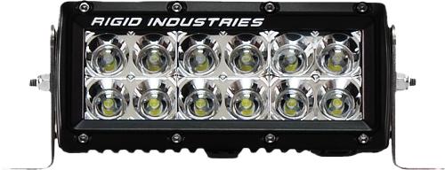 "RIGID - Rigid E Series Light Bar 6""Clear LED Flood - 106112"