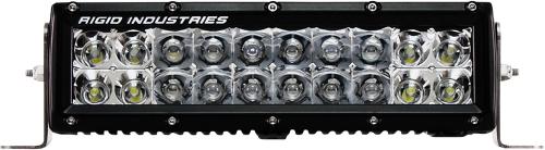 "RIGID - Rigid E Series Light Bar 10""Clear LED Spot / Flood Combo - 110312"