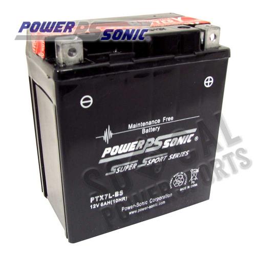 POWER SONIC - Power Sonic  Maintenance Free Battery - PTX7L-BS