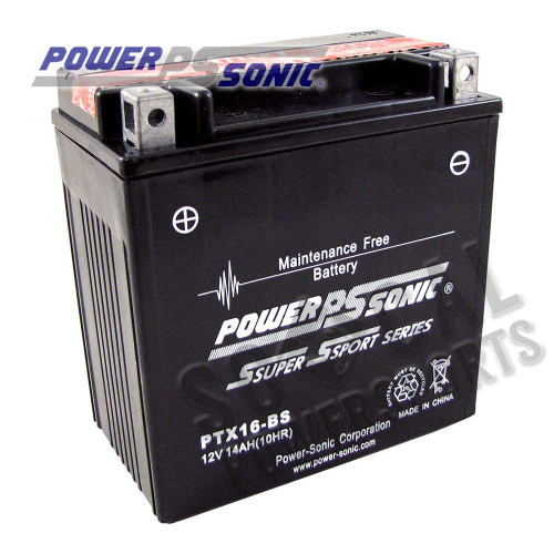 POWER SONIC - Power Sonic  Maintenance Free Battery - PTX16-BS