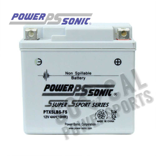 POWER SONIC - Power Sonic  Maintenance Free Factory Activated Battery - PTX5LBS-FS