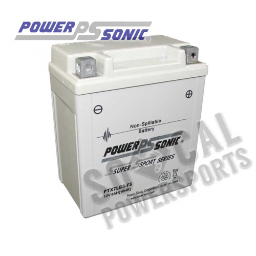 POWER SONIC - Power Sonic  Maintenance Free Factory Activated Battery - PTX7LBS-FS