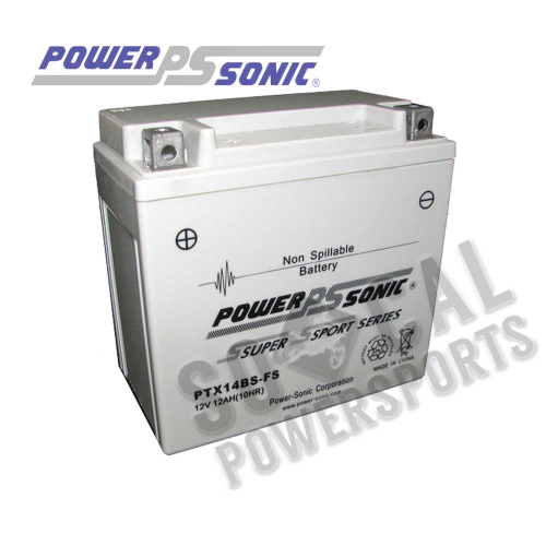 POWER SONIC - Power Sonic  Maintenance Free Factory Activated Battery - PTX14BS-FS