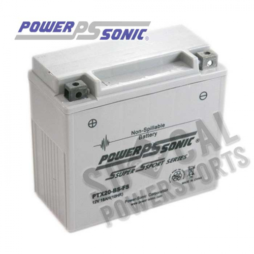 POWER SONIC - Power Sonic  Maintenance Free Factory Activated Battery - PTX20BS-FS