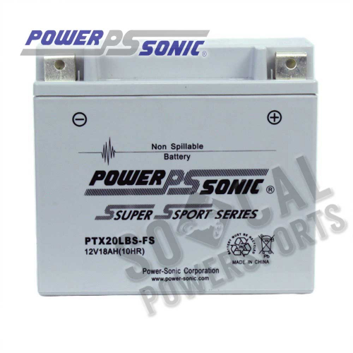 POWER SONIC - Power Sonic  Maintenance Free Factory Activated Battery - PTX20LBS-FS