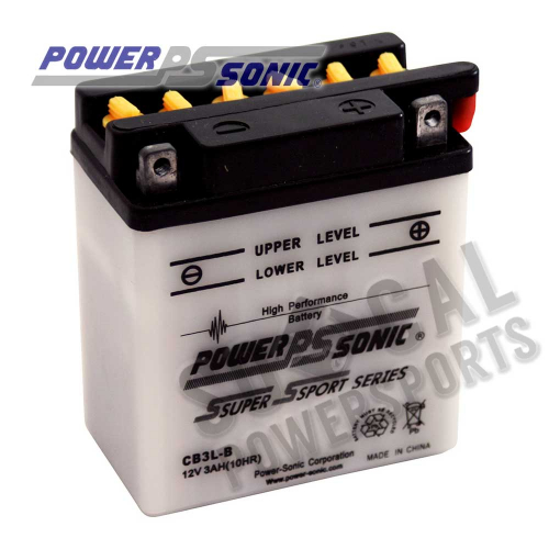 POWER SONIC - Power Sonic Conventional Battery - CB3L-B