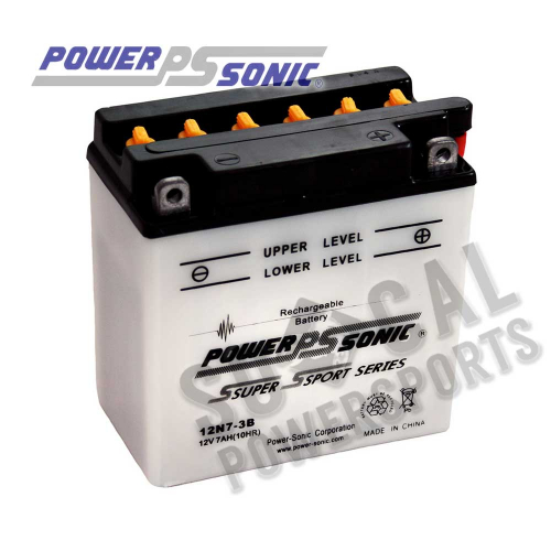 POWER SONIC - Power Sonic Conventional Battery - 12N7-3B