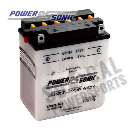 POWER SONIC - Power Sonic Conventional Battery - 12N12A-4A-1