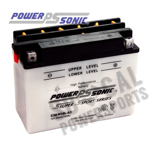 POWER SONIC - Power Sonic Conventional Battery - C50-N18L-A3