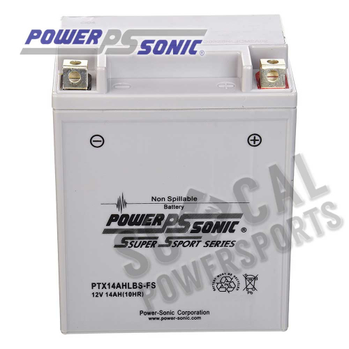 POWER SONIC - Power Sonic High Performance Factory Activated Battery - PTX14AHLBS-FS