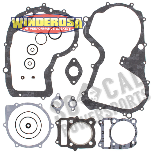 WINDEROSA - Winderosa Complete Engine Gasket Kit - 808826