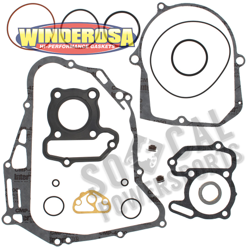 WINDEROSA - Winderosa Complete Engine Gasket Kit - 808878