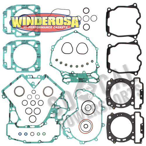 WINDEROSA - Winderosa Complete Engine Gasket Kit - 808956