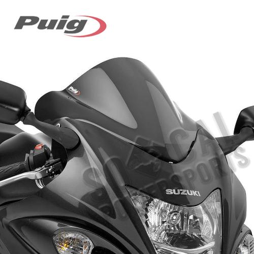 Puig - PUIG Racing Windscreen - Dark Smoke - 0955F
