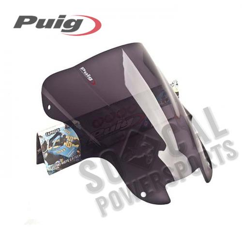 Puig - PUIG Racing Windscreen - Dark Smoke - 0964F