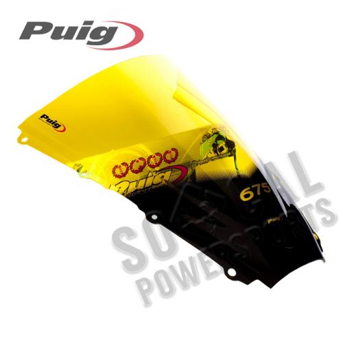 Puig - PUIG Racing Windscreen - Yellow - 4108G