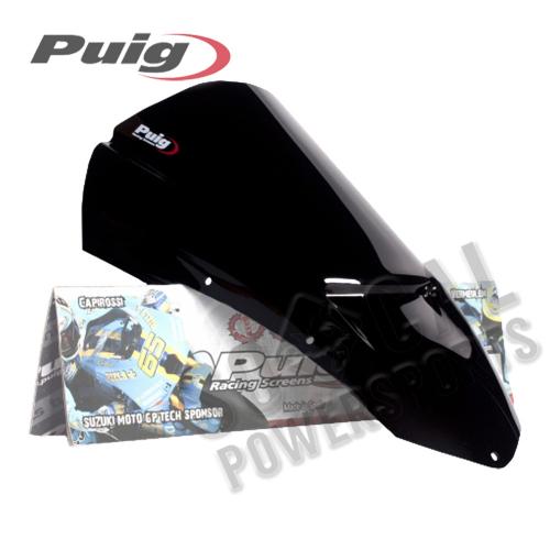 Puig - PUIG Z-Racing Windscreen - Black - 4110N