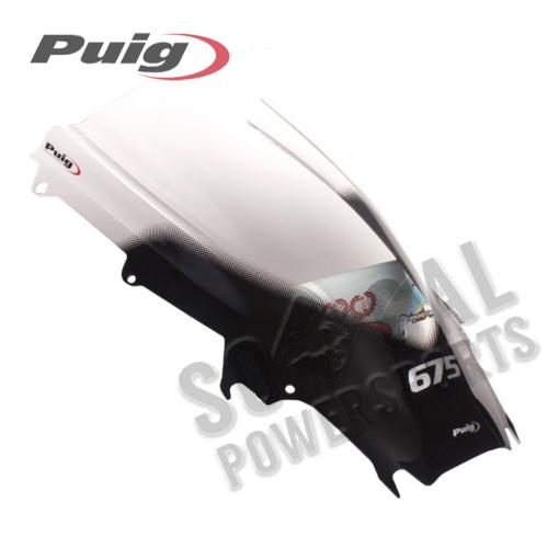 Puig - PUIG Racing Windscreen - Clear - 4939W