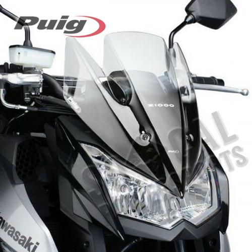 Puig - PUIG Racing Windscreen - Clear - 5254W