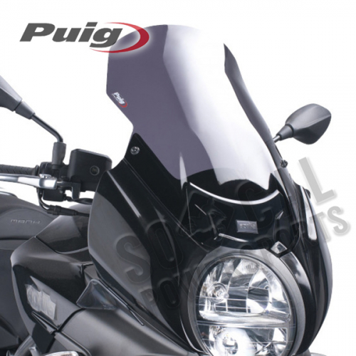 Puig - PUIG Touring Windscreen - Dark Smoke - 5648F