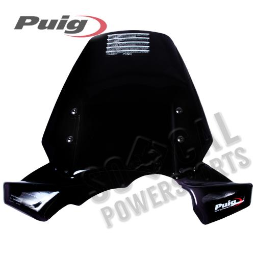 Puig - PUIG Touring Windscreen - Black - 5649N