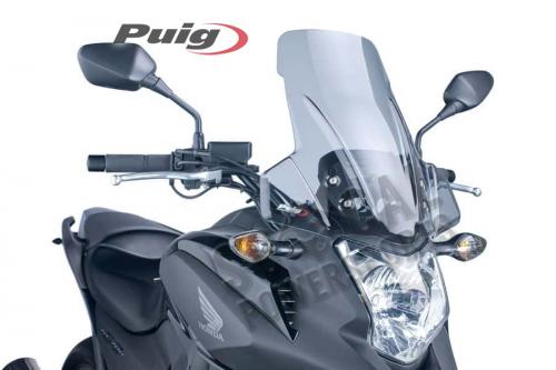 Puig - PUIG Touring Windscreen - Smoke - 5992H